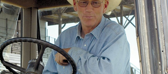 Bill Sixkiller has worked the Little Britches Rodeo every one of his 26 years with the county. The man in charge of the Moffat County Fairgrounds puts in long weeks in the summer as back-to-back events fill the fairgrounds until fall.