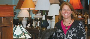 Annie Tisch, of Annie's Home Consignments, figured out how to stimulate retail traffic during troubled economic times. Her store in Sundance at Fish Creek constantly is turning over merchandise.