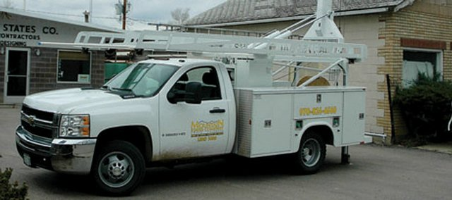 The Mountain States Company recently added a new pump truck to its fleet. It is a 2009 1-ton Chevrolet diesel.