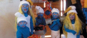 A group of Smurfs