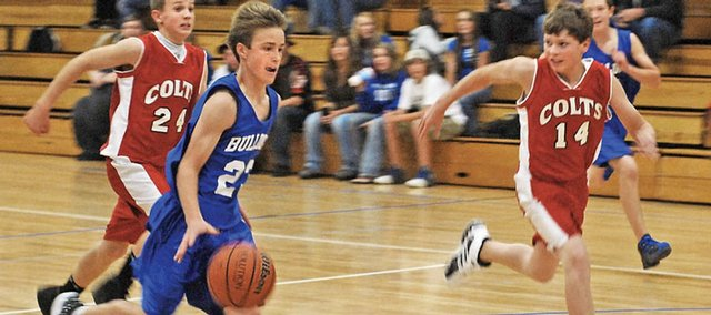 Scoring with 24 points in the bulldogs 40 27 win against the colts