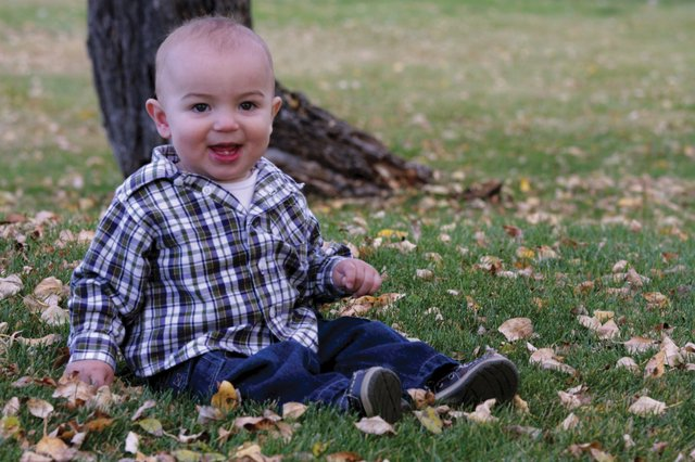 Landon Hatcher, a 10-month-old baby who lives with his parents in Craig, is undergoing treatment for a malignant brain tumor at Children's Hospital in Denver. Craig resident Paula Sadvar has undertaken a fundraising effort for the boy, whom she has never met.