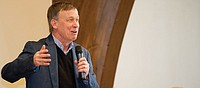 Hickenlooper touches on Steamboat school district consolidation