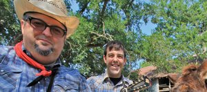 Fat Man and Little Boy: The Atomic Duo, are an acoustic pairing from Austin with a gritty and lyrical approach to modern-day protest folk music. The boys aren't afraid to delve into politics, the recession and the gloomy scape of the American dream. They play a free show at 10 p.m. Saturday at The Boathouse Pub.