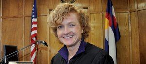 Sandy Gardner, formerly an attorney in Steamboat Springs, moved her practice to Moffat County in 2000 and has served as a county judge since 2006.