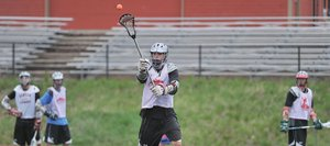 Steamboat Springs Ben Wharton catches the ball during a practice drill Monday afternoon at Steamboat Springs High School. The Sailors will travel to Englewood today to take on No. 3-ranked Kent Denver in the second round of the state playoffs.