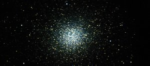 As large as the full moon in the sky, the star cluster Omega Centauri contains millions of stars and appears like a fuzzy ball to the naked eye. Binoculars or a small telescope will reveal the swarms of stars within the cluster. This image was taken through a 7-inch telescope from atop Mauna Kea in Hawaii on March 28, 2012.