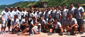 The U20 United States rugby team is preparing for the junior World Rugby Trophy tournament. The team spent the week in Steamboat as part of a team-building camp. The team opens Monday in Salt Lake City with Tonga.