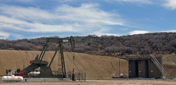 Quicksilver Resources, Inc. is currently producing oil from its Stoddard Well (above) located off of Fawn Creek Trail about five miles south of Craig. Five more wells are scheduled to come online in that area before the end of the summer. The Moffat County Commission on Thursday approved a conditional use permit for Quicksilver to build the Stoddard Central Tank Battery, which will serve as a collection and transport facility for the oil produced from those six wells.