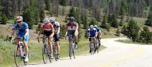 Riders work their way toward Steamboat during the 2011 Tour de Steamboat. This year's event will start Saturday with registration open until 11:59 p.m. Wednesday at www.tourdesteamboat.com. People also can register from 2 to 7 p.m. Friday at Ski Haus.