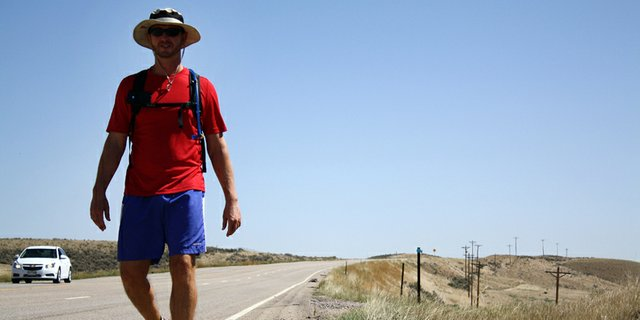 Craig Daily Press / Cornell graduate student walking across country to raise awareness for orphans