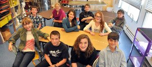 Eighth-graders at Emerald Mountain School will serve as ambassadors at the campus