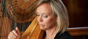 Harpist Teri Rose is a choir director, Steamboat Symphony Orchestra player and ski instructor in the Yampa Valley.