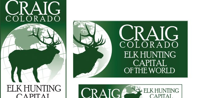 This logo and phrase, Elk Hunting Capital of the World, recently was trade marked by local business man John Ponikvar for use in the Craig community.