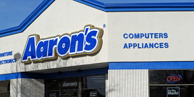 Debbie Montgomery, general manager of Aaron&#39;s in Centennial Mall, said the store has been doing well since it opened in December. She said customers like leasing option as well as bedroom groups.