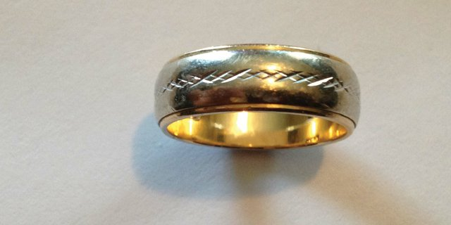Frank Rinella lost his wedding ring in the Craig area back in 1972. The ring above is his wife Janie&#39;s and matches the one he lost.