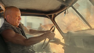"""High speeds and heavy flames are business as usual for racer Dominic Toretto (Vin Diesel) in """"The Fate of the Furious."""" The eighth movie in the series about highly skilled drivers sees them take on a global cyber-terrorist."""
