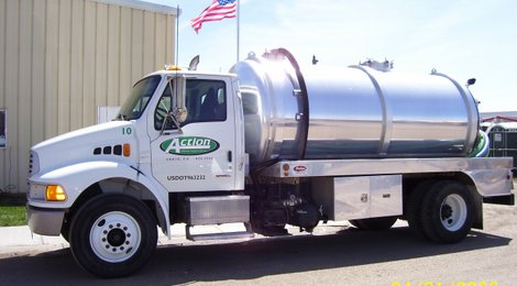 One of our septic pumpers.