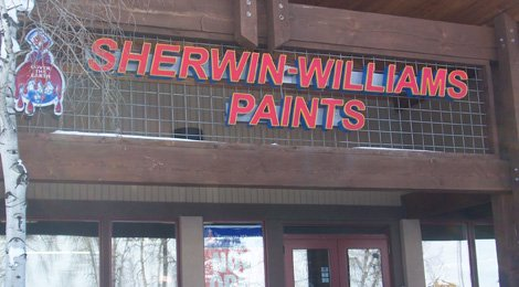 Sherwin-Williams Paints 970-879-6166