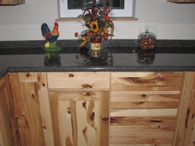 Photo Kitchen cabinet design interior design wood work