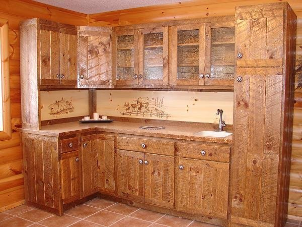 Photo Kitchen Cabinet Design Interior Wood Work