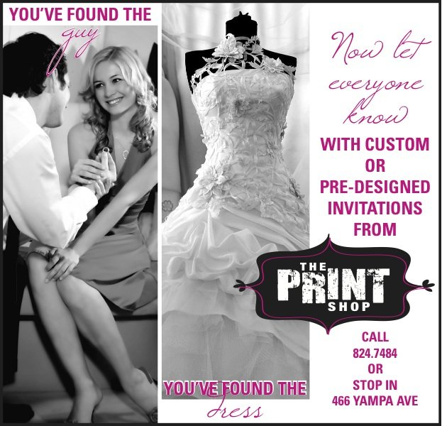 Find your perfect wedding invitation | The Print Shop in Craig ...