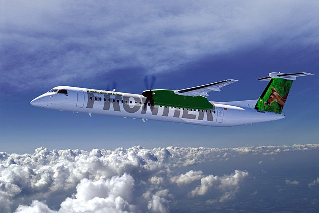 "Frontier airline announced last week that it would purchase 10 new 74-passenger turbo-prop planes to launch regional Denver-based service to as many as 18 destinations in the ""underserved markets and the Rocky Mountain Region,"" according to a news release."