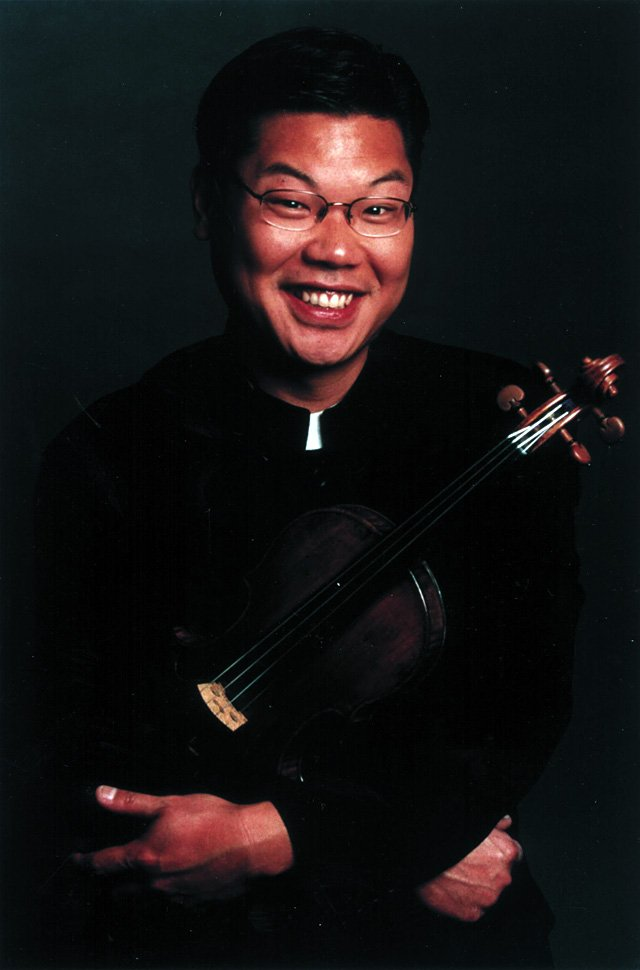 Violinist Benny Kim and pianist Anne Epperson will perform at St. Paul's Episcopal Church at 7 p.m. on Tuesday.