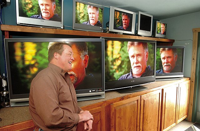 Dale Johnson, owner of Yampa Valley Sound Company in Steamboat, discusses different options for high-definition TVs and what channels are broadcast using a HDTV signal in the Steamboat area.