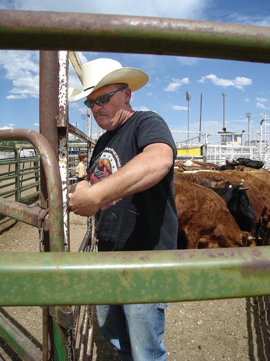 Bret Steele rode in Little Britches as a youngster, and today helps put on the events for the rodeo at the Moffat County Fairgrounds. His girls compete in the rodeo, as did his sisters when they all were children growing up in Maybell.