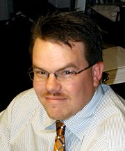 Bryce Jacobson, publisher of the Craig Daily Press