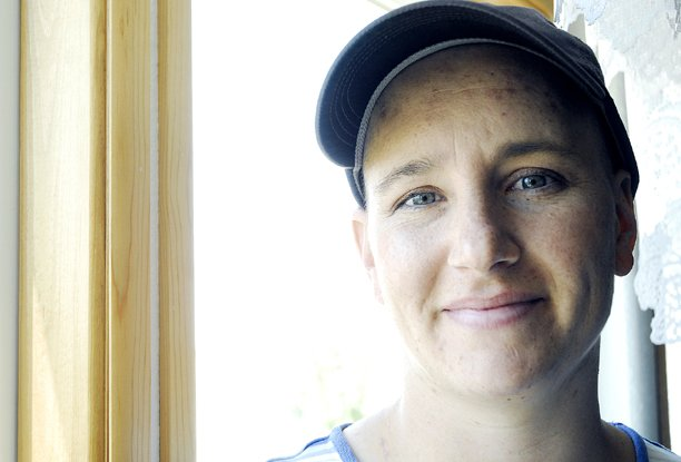 Debbie Yeager was diagnosed with Hodgkin's lymphoma, a rare form of cancer, in May after she found a swollen lymph node in her neck. Now, she's undergoing months of chemotherapy treatments before radiation. Even though she's scared, Yeager said the disease has helped her appreciate things she'd taken for granted before.