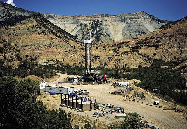 Natural Gas Near Meeker