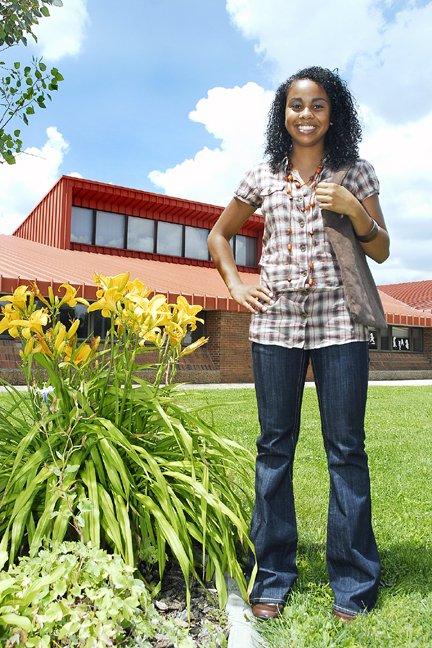 Tara Montoya, senior at Moffat County High School