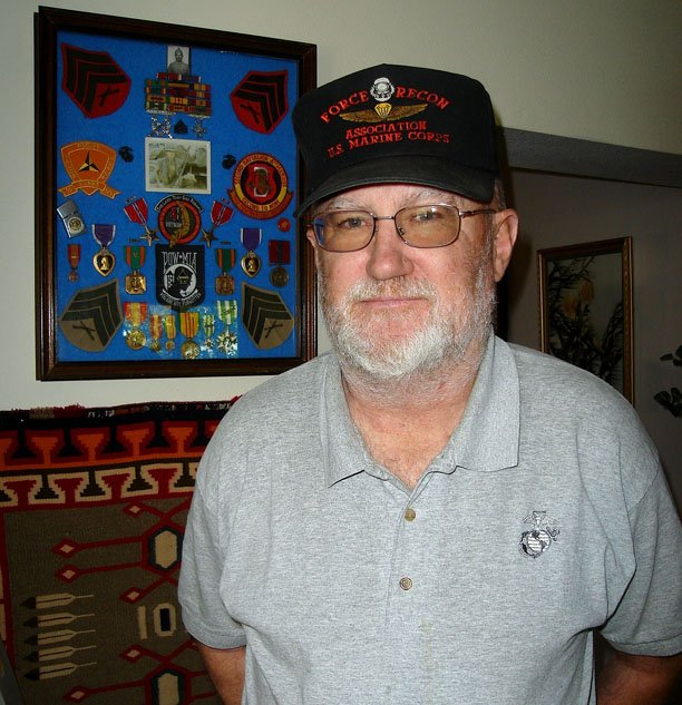 U.S. Marine Corps Sgt. Tom Kilduff of Meeker was involved in bringing the Vietnam Moving Wall memorial to Meeker in 1996, and he will guard the memorial during its Craig visit Thursday through Monday.