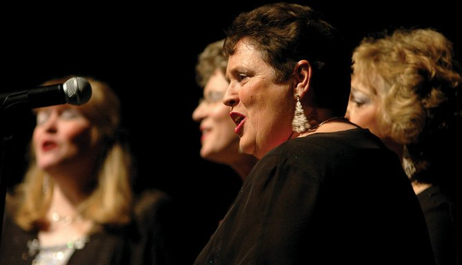 Ivy Davis and the rest of the High on Harmony singers opened the last Craig Concert Association's Local Talent Concert competition. Auditions for the next show are Sept. 8.