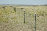 The largest pasture on this ranch near Big Gulch was fenced with help from Natural Resources Conservation Services funding through the Wildlife Habitat Incentives Program. Other projects include improvements to the livestock watering system that also will benefit sage grouse in the area.