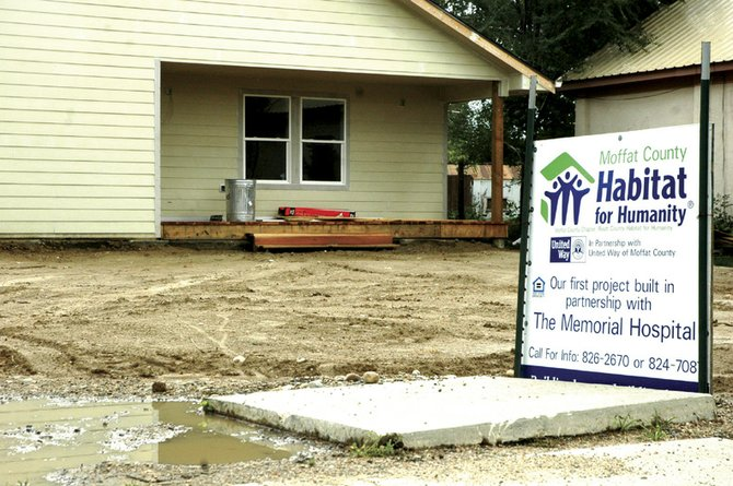 The Moffat County Habitat for Humanity chapter will host tours of the group's nearly completed project home at 745 Yampa Ave. on Friday and Saturday. The public is invited to attend.