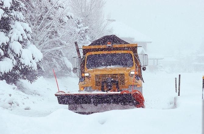 "Steamboat Springs' public works department has yet to fill four snowplow driver positions. City Manager Alan Lanning called the snowplow positions ""critical."""