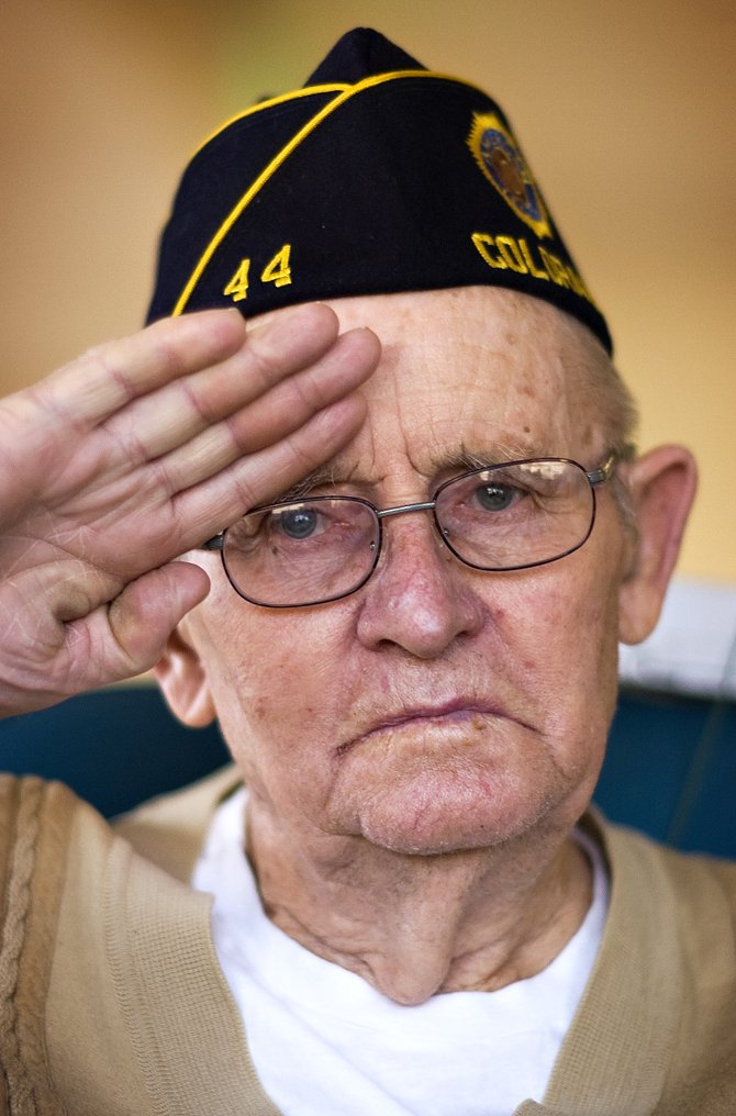 United States Navy veteran and Doak Walker Care Center resident Donald Lufkin says he was proud to serve his country during World War II, and he thinks his fellow soldiers were proud of their accomplishments, as well.