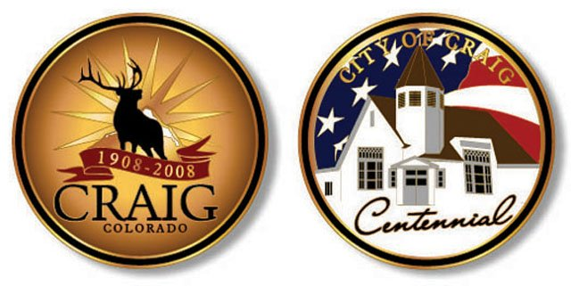 The Craig Centennial Coin should be available for purchase about the first week in December.