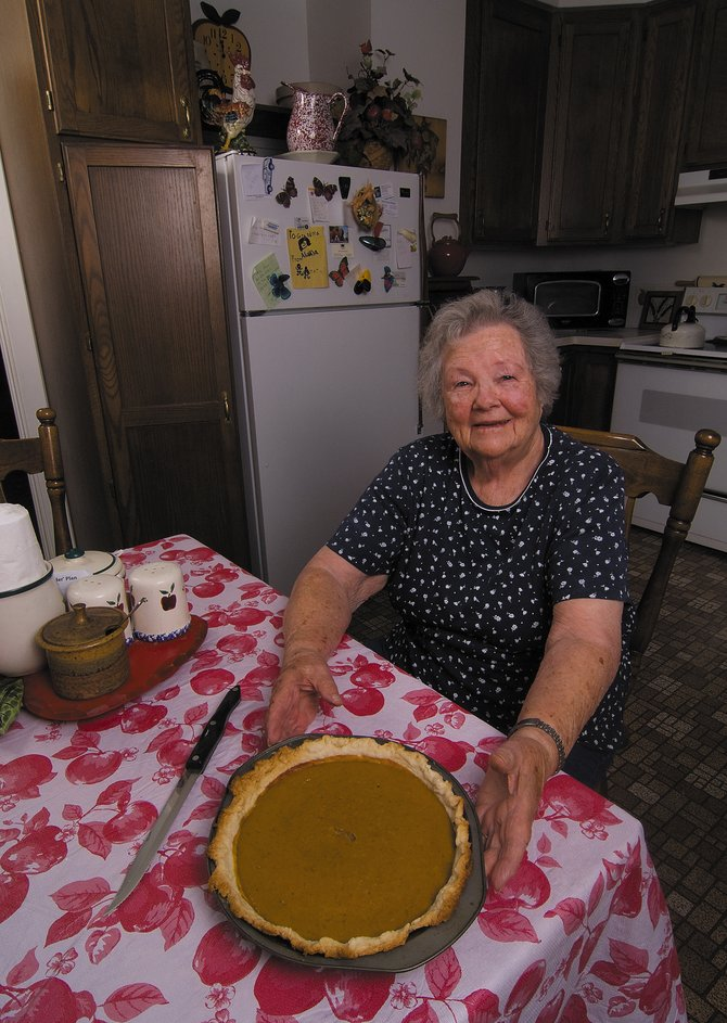 When it comes to Thanksgiving traditions, turkey and pumpkin pie are usually at the top of the list, and Elaine Gay's pies are among the best in Routt County.