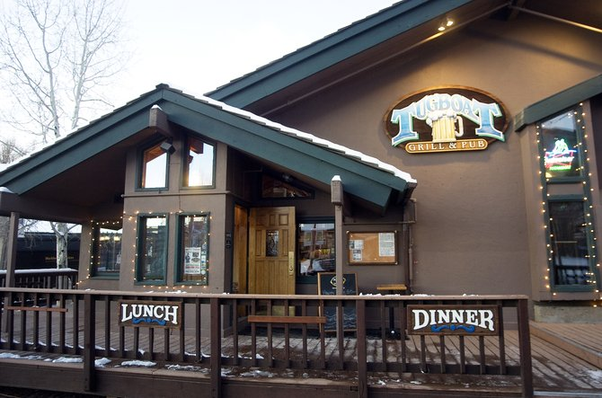The Tugboat Grill & Pub in Ski Town Square is one of many businesses that will be forced to relocate or close permanently next summer when the area is demolished.