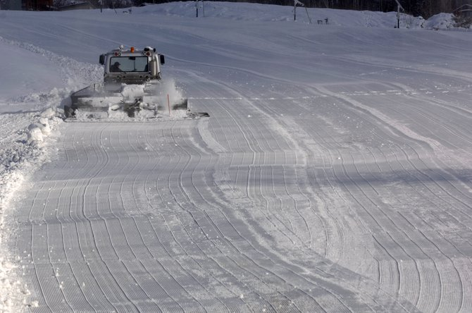 The Steamboat Ski Area opens today with three lifts servicing nine trails. The opening of additional lifts and trails in the near future will depend primarily on Mother Nature, but operations crews are aiming to begin a new round of snowmaking on Rudi&#39;s Run, Lightning and Ego. 