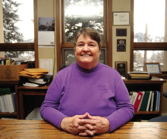 Former Routt County Commissioner Nancy Stahoviak