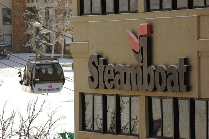 An unidentified man died Tuesday at the Steamboat Ski Area. The cause of death is under investigation.
