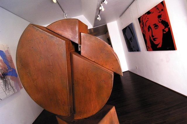 Inside K. Saari Gallery