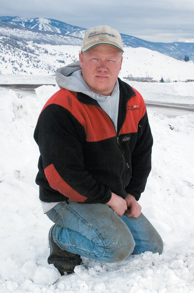 Routt County Search and Rescue member Delbert Bostock found himself in a unique position last week - the experienced snowmobile rider needed help getting out of the backcountry. 