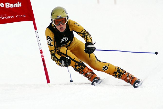 University of Colorado ski racer Lucie Zikova, a six-time All-American and national champion, moved one step closer to setting the Buffs' all-time record for wins by a skier with a dominate performance Sunday night in the Colorado Invitational slalom race at Howelsen Hill.