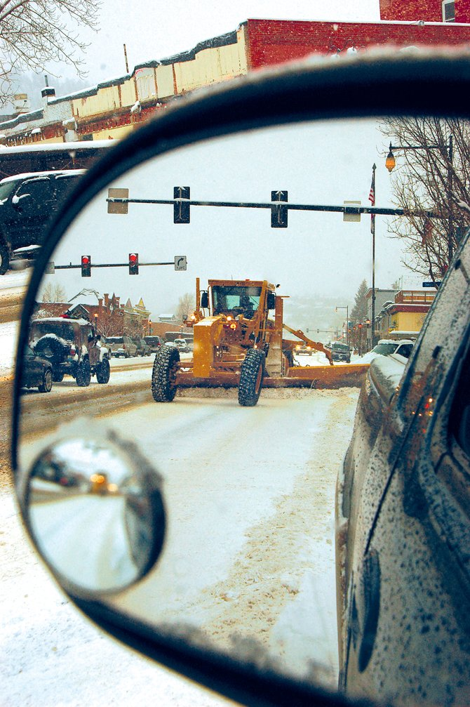 Snow plow operators have been working overtime due to snowfall on 34 of the past 44 days. Last week, crews were working 12-hour shifts to clear the roads.